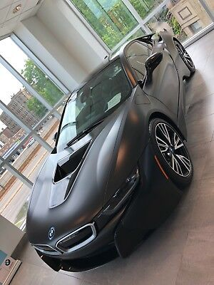 2017 BMW i8 PROTONIC FROZEN BLACK SPECIAL EDITTION 2017 BMW i8 PROTONIC FROZEN BLACK SPECIAL EDITION