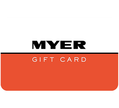 Myer Gift Card $25 $50 or $100 - Emailed