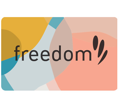 freedom Gift Card $25 $50 or $100 - Emailed