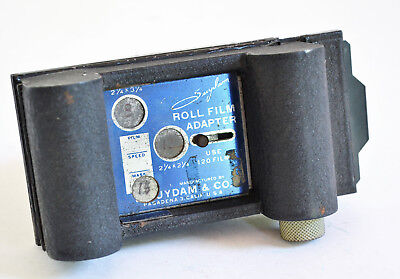 Vintage Suydam Roll Film Adapter for 120 Film
