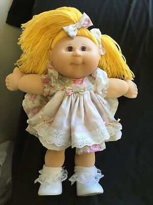 Cabbage Patch Kid Doll Dress Set. Shabby Rose. No Doll.