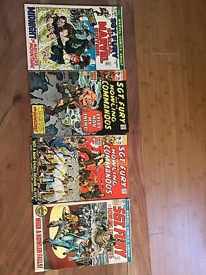 Vintage Marvel Comics Sgt. Fury And His Howling Commandos