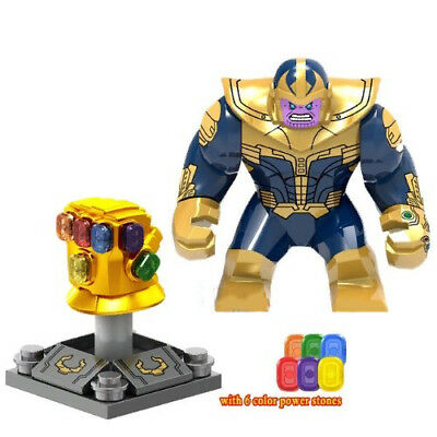 Avengers Infinity War Thanos & Infinity Gauntlet Lego Building Blocks Marvel Toy