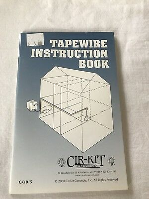 cir kit dollhouse wiring instruction booklet tape wire ck1015 20 rh picclick com