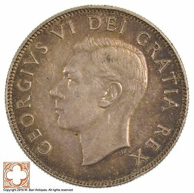 1950 Canada 50 Cents King George VI *582