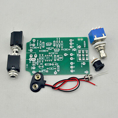 OVERDRIVE PCB DIY Guitar Pedal Kit and 3PDT 9 PIN Foot Switch and More OD1