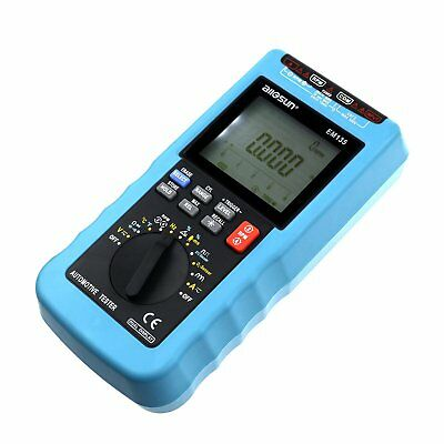 Digital Multimeter for Automotive RPM Auto-ranging Multi-tester LCD Dwell Angle