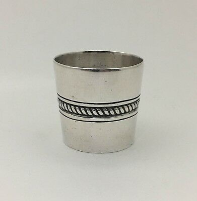 Rare Early WILLIAM SPRATLING TAXCO MEXICO 980 Sterling Silver Beaker Kiddish Cup