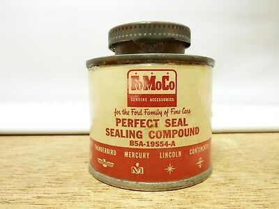 Old Ford Fomoco tin can - perfect seal compound - garage shop auto car