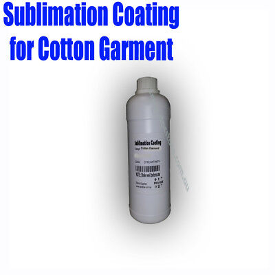 Dye Sublimation ink coating for Light Color 100 %Cotton Garment,T Shirt 500ml