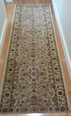 Persian style hall runner rug 2300 x 800 no stains or damage p/up Ringwood