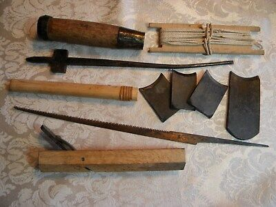 Antique Japanese Tool Lot