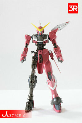3R MG 1/100 Gundam alloy frame for MG ZGMF-X09A Justice Gundam Toy Action Figure