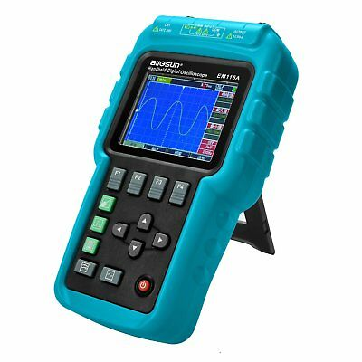Digital Scopemeter Multimeter Oscilloscope Volt Ohm 50Mhz Bandwidth Color Screen
