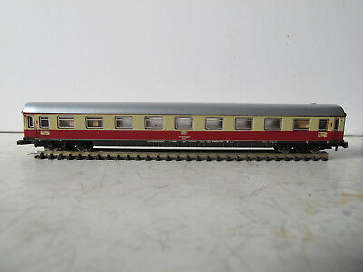 Marklin Z Scale carriage #8724 TEE 1st class with lighting.