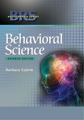 [PDF] BRS Behavioral Science Seventh Edition by Barbara Fadem PhD