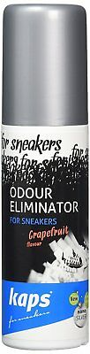 Shoe Deodorant For Sneakers, Grapefruit Scent, Kaps Sneakers Odour Eliminator