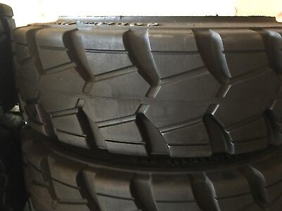 Brand new, press-on forklift tire 18 x 6 x 12 1/8 traction