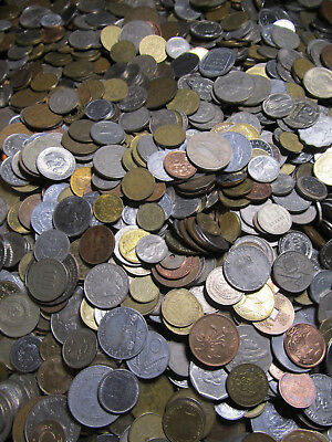 World Coin Lot 1 pound One lb. Free Priority Shipping bulk foreign coins