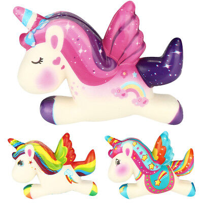 Unicorn Super Squishy Slow Rising Doll Cream Scented StressRelief Toy Collection