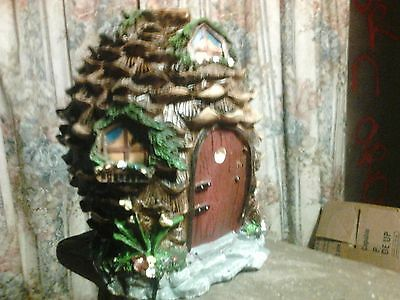 Pine Cone Fairy House Mold for Concrete , Plaster even Wax