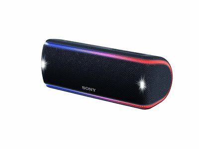 Sony SRS-XB31 Portable Extra Bass  Wireless Bluetooth Speaker NFC/ Lights BLACK