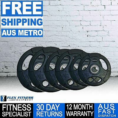 Weight lifting Olympic Rubber Weight Plates 80kg Set