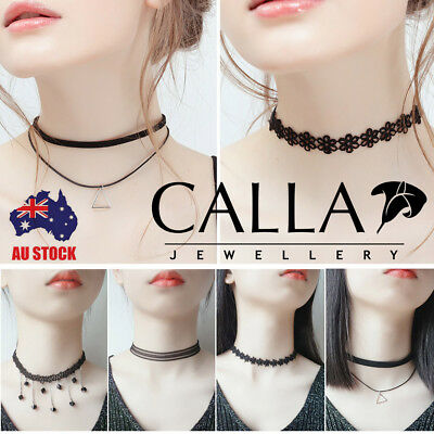 CALLA Fashion Lace Choker Gothic Vintage Velvet Collar Necklace Jewelry 1PC