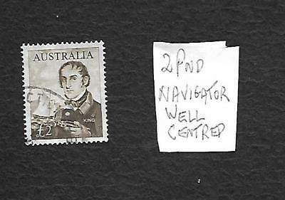 Superb Stamp 2 Pound 1965 Navigator Very Well Centred Good Perfs -Quality Item