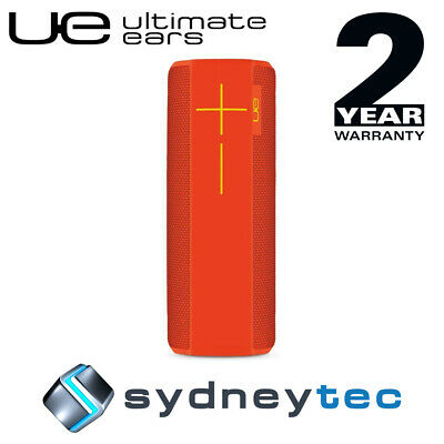 New Logitech UE MegaBoom Wireless Bluetooth Speakers Juicy Orange