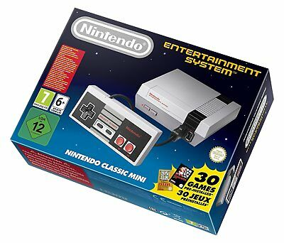 NES Nintendo Classic Mini NES Console - Official New - In Stock Now -Free UK P&P
