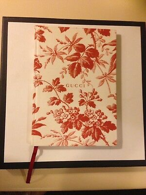 Gucci Notebook Floral Design Brand New