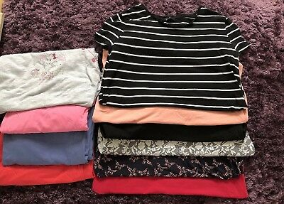 New look Maternity clothes bundle job lot Of Tops & Pjs Size 14