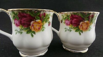Lovely Pair of Royal Albert Coffee Cups.