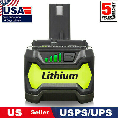 18V 4.0AH For Ryobi P104 One+ Plus P108 P105 P102 P103 P107 P109 Lithium Battery
