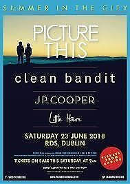 Two Picture This tickets - RDS 23 June