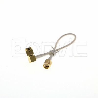 SMA Jumper RF Coax RG316 50Ohm Cable Male to Male Gold Plated Low Loss SMA