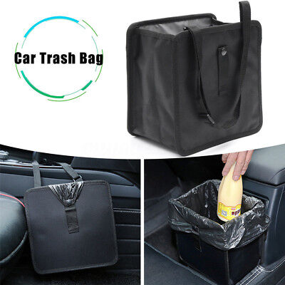 6.5L Car Trash Can Litter Garbage Bin Wastebasket Storage Holder Organizer Pop