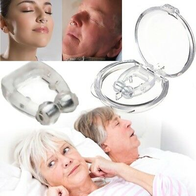 1Pcs Magnetic Nose Clip Stop Snoring Anti Snore Magnetic Nose Clip Sleeping Aid