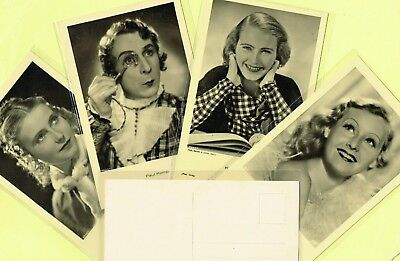 ROSS VERLAG - 1930s Film Star Postcards produced in Germany #8685 to #8848