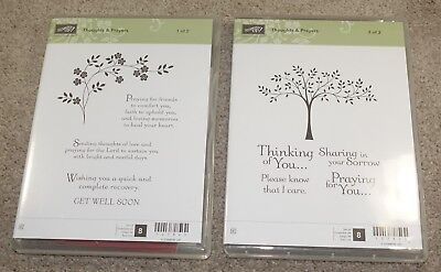 stampin up stamp - Thoughts & Prayers - Rubber stamps