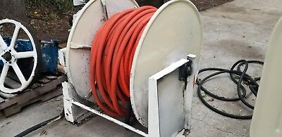 Hydraulic Drive Hose Reel With Hose