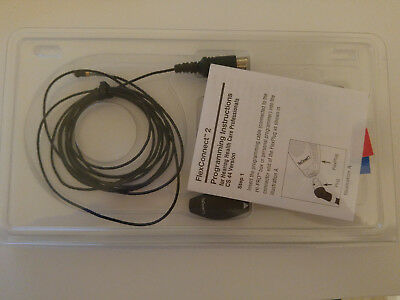 Siemens FlexConnect2 Hearing Aids Programming Adaptor Cable New