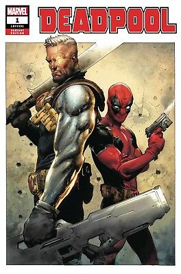 Deadpool 1 - 1:50 Jerome Opena Cable Variant