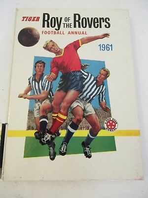 Tiger Roy of the Rovers Football Annual 1961 Vintage