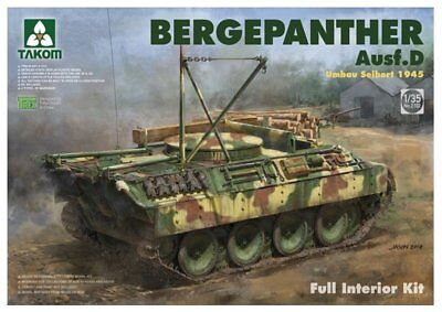 Takom 1//35 Bergepanther Ausf A Assembled by Demag #2101