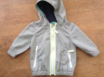 Next Baby  Boys Spring Summer Lightweight Hooded Jacket 3-6Mths
