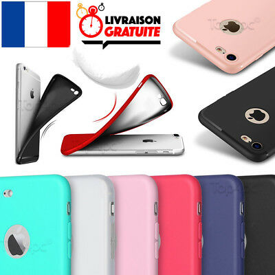 Coque Housse Etui Ultra Fine Pour Iphone 6 5 7 8 X Protection Silicone Souple