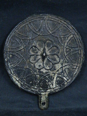 Ancient Bronze Mirror Roman 200 BC #BR2044