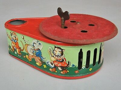 Pixiephone child's  toy gramophone / phonograph -- for completion / restoration